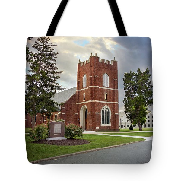 Fork Union Military Academy Wicker Chapel Sized For Blanket Tote Bag