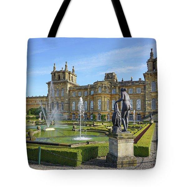 Formal Garden Blenheim Palace Tote Bag