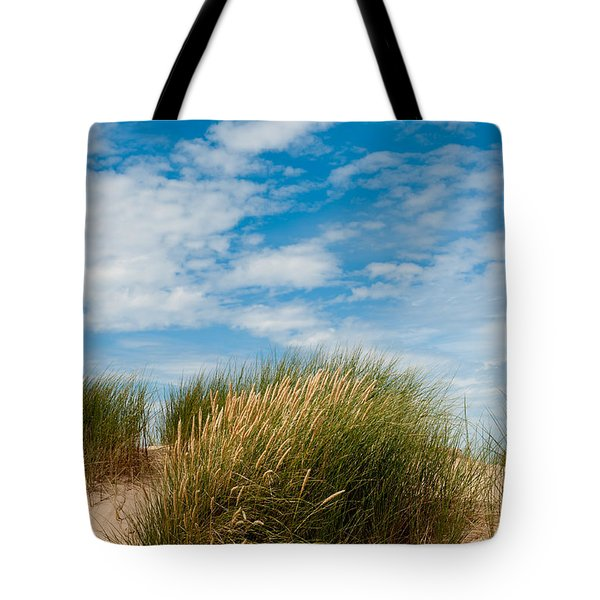 Formby Sand Dunes And Sky Tote Bag