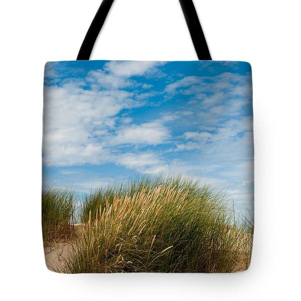 Formby Sand Dunes And Sky Tote Bag