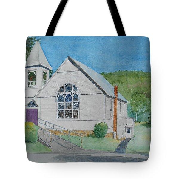 Former Rush Church Tote Bag by Christine Lathrop