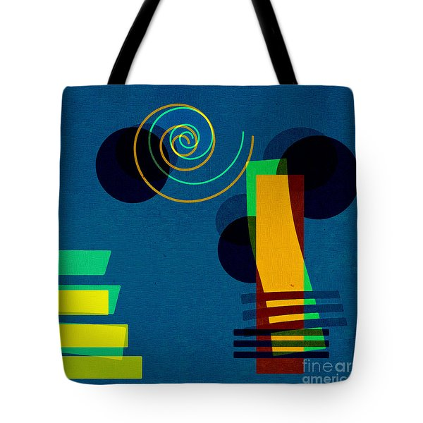 Formes - 03b Tote Bag by Variance Collections