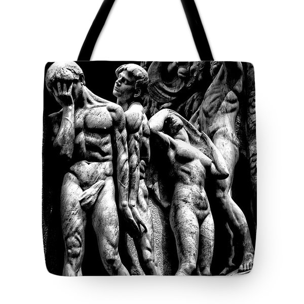 Tote Bag featuring the photograph Forms In Marble by Paul W Faust - Impressions of Light