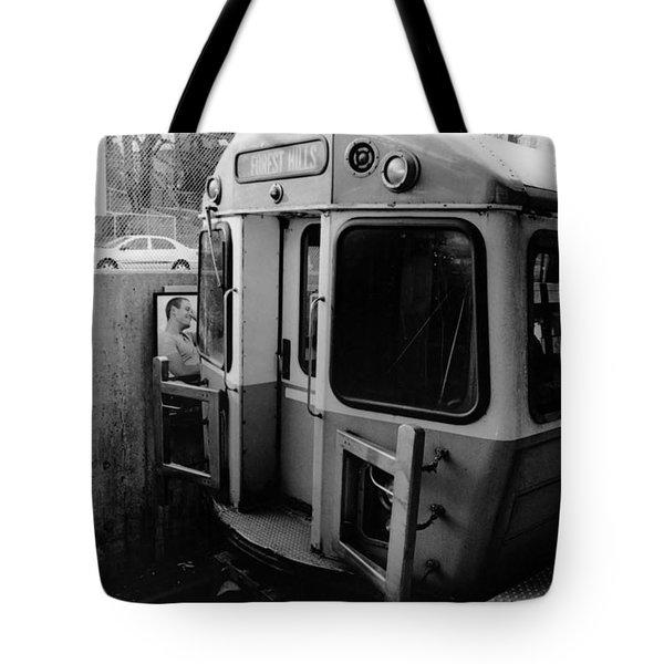 Forrest Hills Stop  Tote Bag