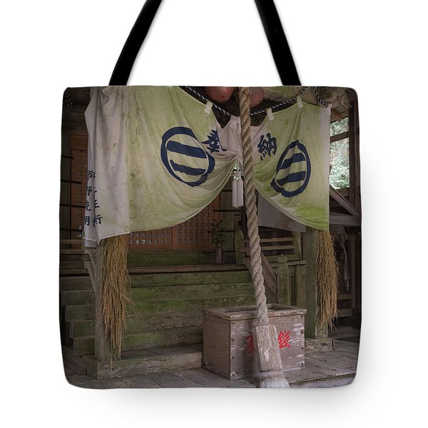 Forrest Shrine, Japan 4 Tote Bag