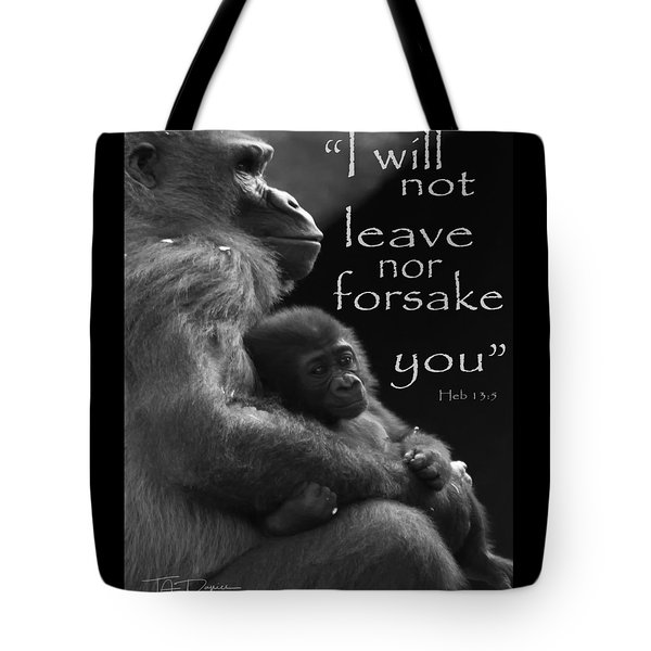 Tote Bag featuring the photograph Forsake 11x14 by T A Davies