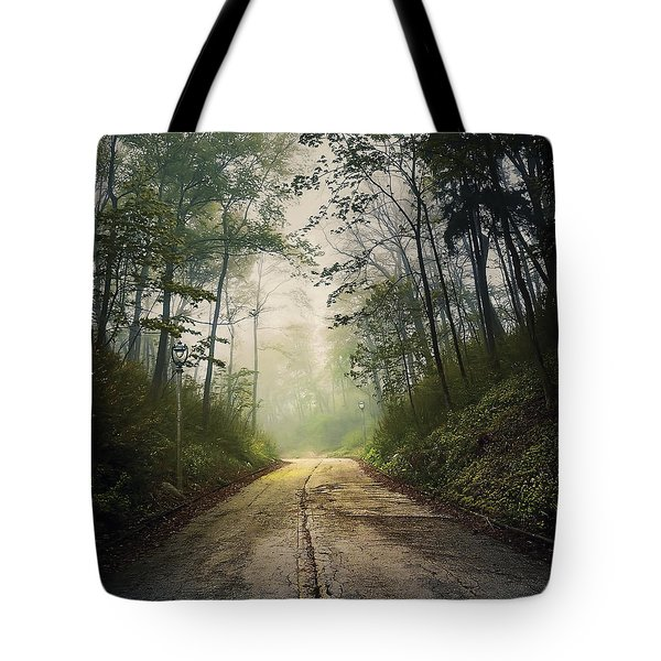 Forsaken Road Tote Bag