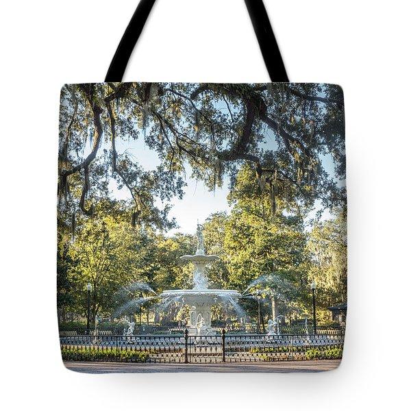 Forsyth Park #2 Tote Bag