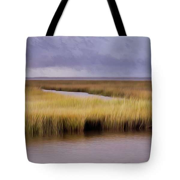 Forsythe By The Sea Tote Bag