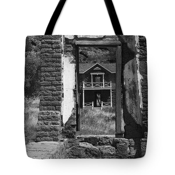 Fort Davis Tote Bag