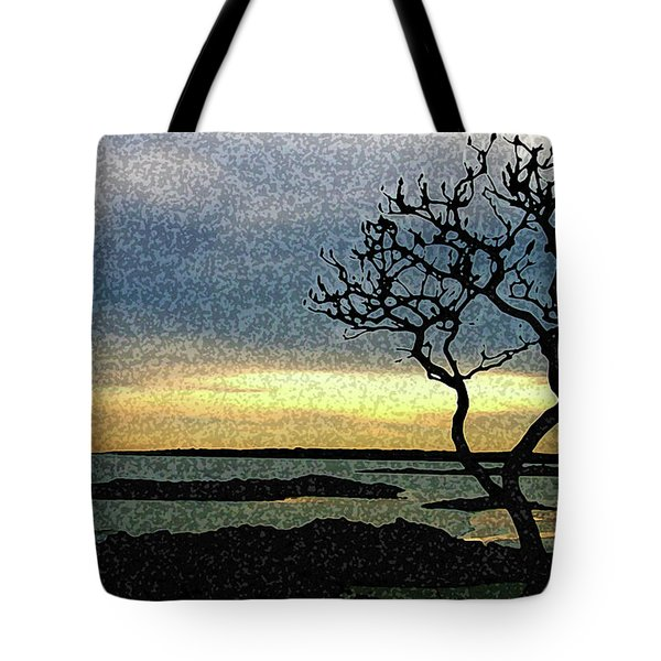 Fort Foster Tree Tote Bag