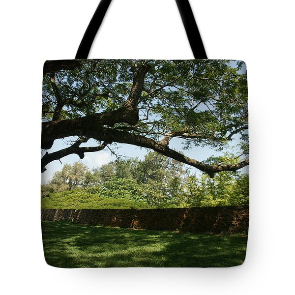 Tote Bag featuring the photograph Fort Galle by Christian Zesewitz