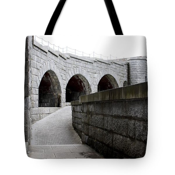 Tote Bag featuring the photograph Fort Knox by Greg DeBeck