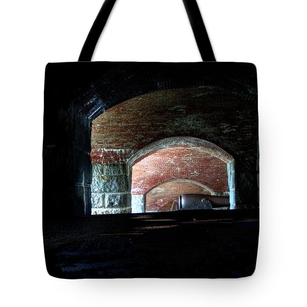 Tote Bag featuring the photograph Fort Knox I by Greg DeBeck