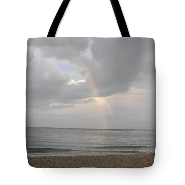 Tote Bag featuring the photograph Fort Lauderdale Rainbow by Patricia Piffath