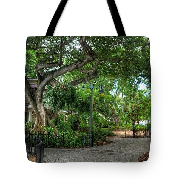 Fort Lauderdale Riverwalk Scenic Tote Bag