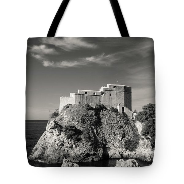 Fort Lavrijenac Tote Bag