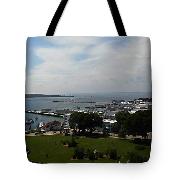 Fort Mackinac Tote Bag