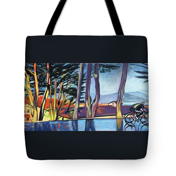 Fort Mason Bike Commute Tote Bag by Colleen Proppe