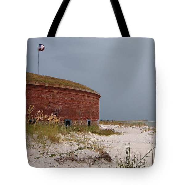 Fort Massachusetts  Tote Bag