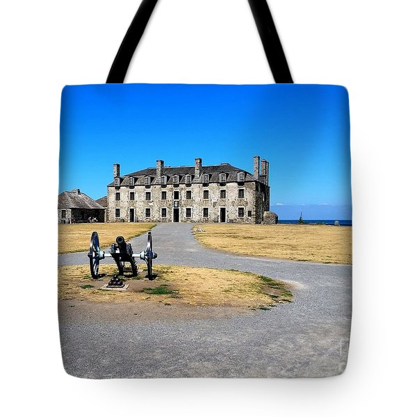 Tote Bag featuring the photograph Fort Niagara  by Raymond Earley