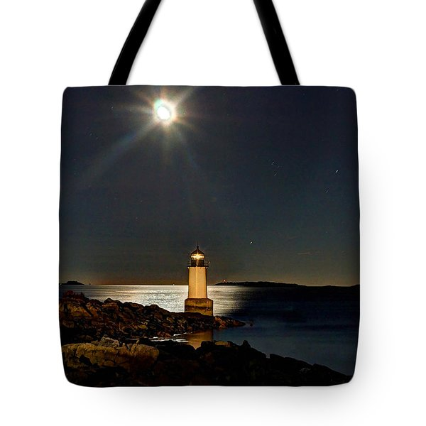 Fort Pickering Light 283 Tote Bag