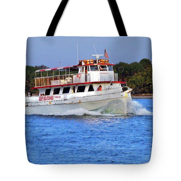 Fort Pierce Lady Tote Bag