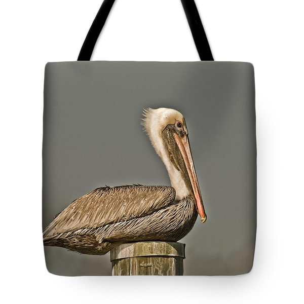 Fort Pierce Pelican Tote Bag
