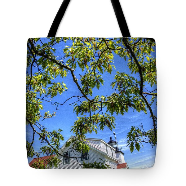 Fort Point Lighthouse Tote Bag