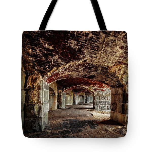 Fort Popham Tote Bag