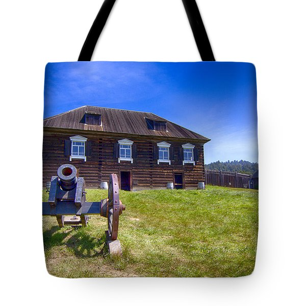 Fort Ross State Historic Park Tote Bag