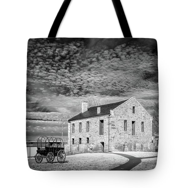 Tote Bag featuring the photograph Fort Smith Historic Site by James Barber