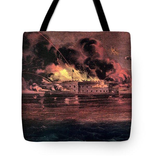 Fort Sumter, 1861 Tote Bag