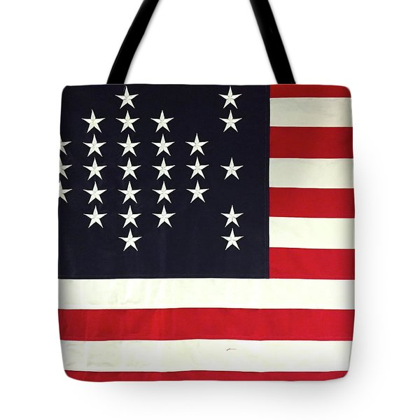 Fort Sumter Flag Tote Bag