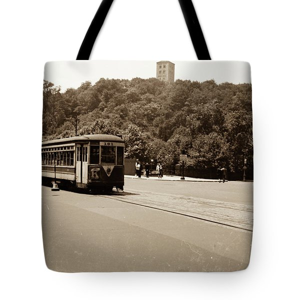 Fort Tryon Trolley Tote Bag