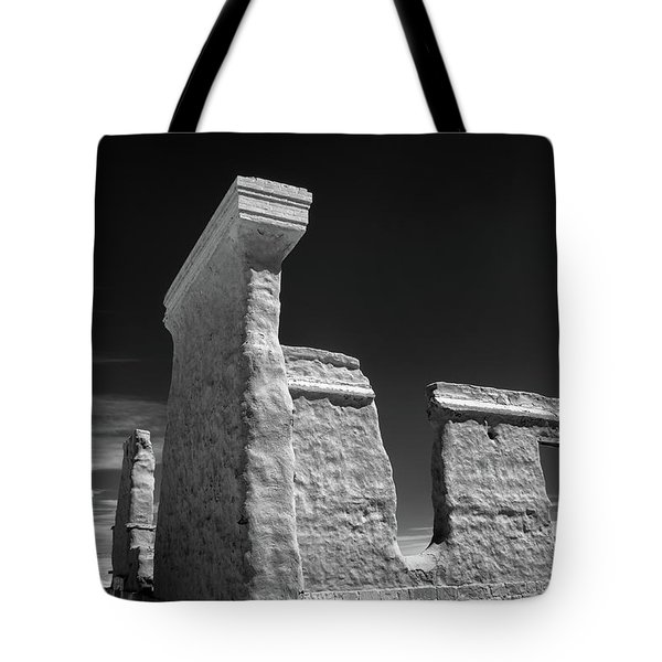 Fort Union Ruins Tote Bag by James Barber