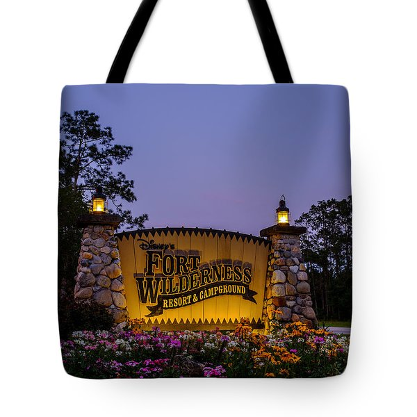 Fort Wilderness Resort And Campground Tote Bag