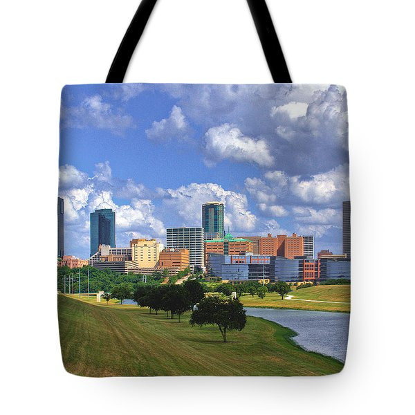 Fort Worth #1 Tote Bag