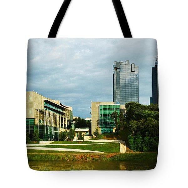 Fort Worth Buildings Tote Bag