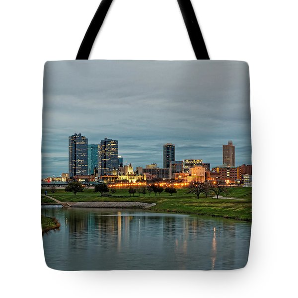 Fort Worth Color Tote Bag