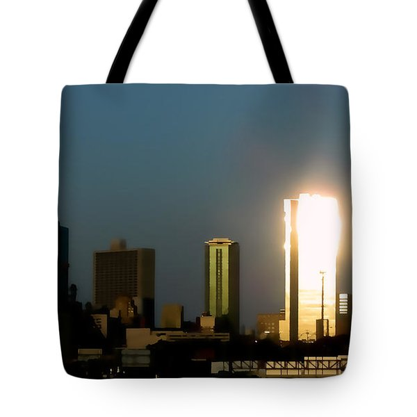 Fort Worth Gold Tote Bag by Douglas Barnard