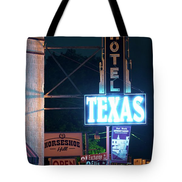 Fort Worth Hotel Texas 6616 Tote Bag