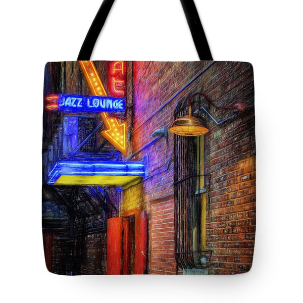 Fort Worth Impressions Scat Lounge Tote Bag