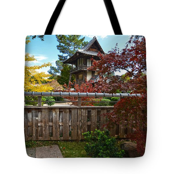 Fort Worth Japanese Gardens 2771a Tote Bag