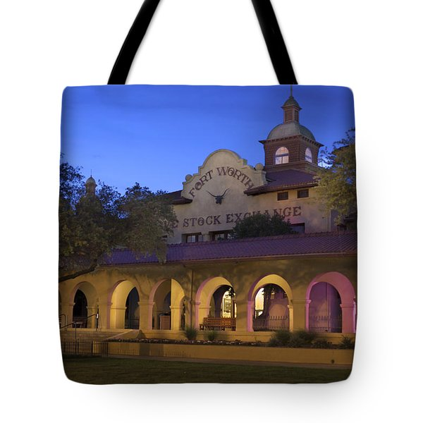 Fort Worth Livestock Exchange Tote Bag