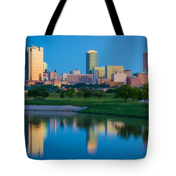 Fort Worth Mirror Tote Bag