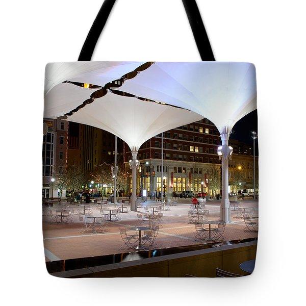 Fort Worth Sundance Square Tote Bag