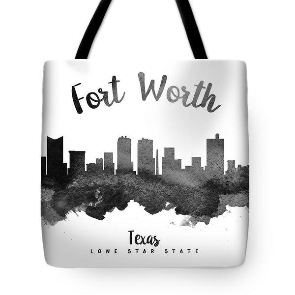 Fort Worth Texas Skyline 18 Tote Bag