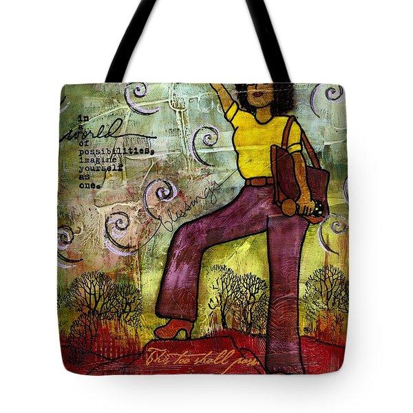 Fortitude Tote Bag by Angela L Walker