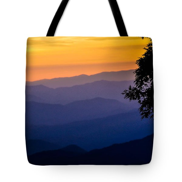 Fortuitous Sunset Tote Bag